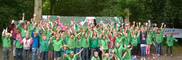 Welpen redden toekomstboom bij Jungledag